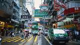 Hong kong building road traffic urban life 62181 1920x1080
