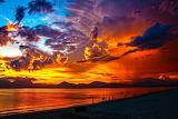 Fire sunset, credit: Amateur Pic(500px)