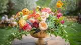 Floral arrangement, bouquet, vase