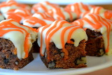 ^ Carrot Cake Semi-Fondant Fancies