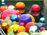 Various 884 colorful marbles