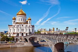 Cathedral of Christ the Savior ,Moscow