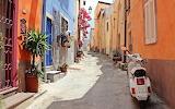 Vespa in Italy