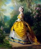 Empress Eugenie de Montijo~ Franz Xaver Winterhalter