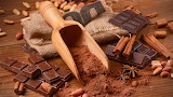 Chocolate, cocoa, spices, nuts