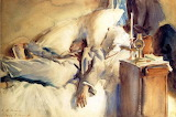 John Singer Sargent, Peter Harrison asleep, 1905