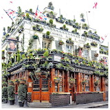 London, Notting Hill. Churchill Arms