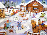 Winter Fun on the Farm~ SandyRusinko