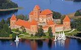 Lithuania-Trakai Island Castle