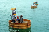 Japanese Tub Boats, Sado Island