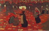 Autumn the Chestnut Gatherers by Georges Lacombe 1893