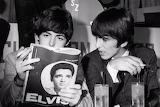 Beatles Reading Elvis