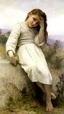 Little Thief ~ William Adolphe Bouguereau