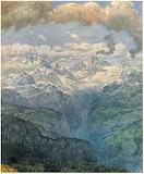 The Lauterbrunnen Valley - Hans Thoma 1904