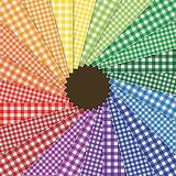 ^ Checkered pinwheel