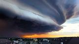 Shelf Cloud, Rochester, Minnesota 5.25.18