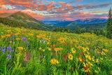 Beautiful Colorado valley