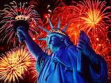 #NYC Lady Liberty Fireworks