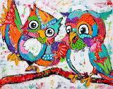 owls by Liz
