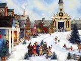 american painting village