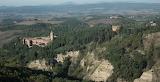 Abbazia di Monte Oliveto Maggiore Siena - vista da Chiusure