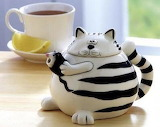 Cat and Mouse Tea Pot from Current Catalog