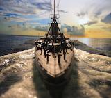 Battle ship model AVEROF 13.50 scale by Nikos Kosmadakis