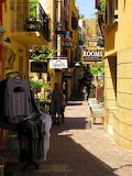 Crete, Chania, old town alleyway
