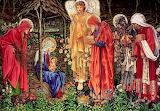 Adoration of the magi, E. Burne-Jones