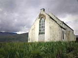 Abandoned church rural scotland