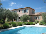 Rustic stone villa, garden and pool in Provence