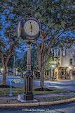 Rotary Clock on Main Street - BrendaS
