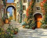 Italian garden village