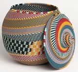 Panier Khamba Telephone wire basket from South Africa
