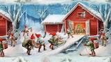 Christmas Painting-Leonid Afremov