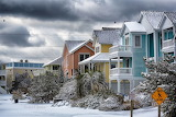 Seven Sisters Nags Head Snow