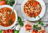 Tomato-soup-garlic-pasta