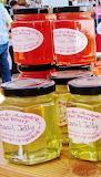 #Plum Jam and Basil Jelly Mayne Island Market