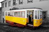 Lisbon Train Nostalgic