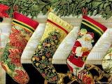 Рождественское текстильное панно
