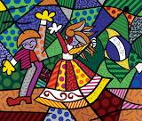 Colors of Brazil 1996 by Romero Britto