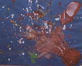 Giotto/Halley's Comet Children's Art, HQ-PHOTO-1986.X.22.1-2
