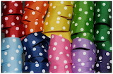 colorful dot ribbons 150