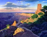 Grand Canyon desert view, credit: stardriv(dA)