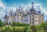 Burg Loire Chambord Frankreich