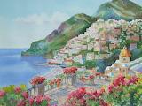 ^ Amalfi Slopes ~ Mel Wolf