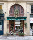 Shop florist Paris France