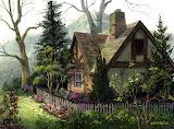 Hidden Cottage ~ Michael Humphries