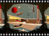 1950's Retro Outer Space