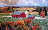 ^ Autumn Barn Quilt